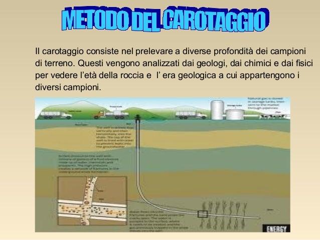 Tecnologia il petrolio for Utensili per prelevare campioni di terreno