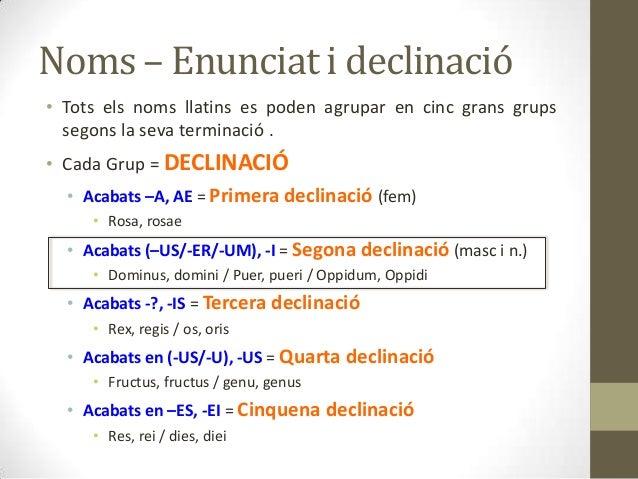 2a declinacio Slide 2