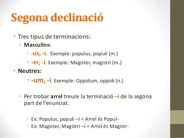 2a declinacio Slide 3