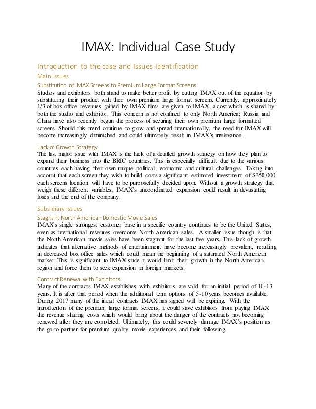 strategic management case study examples