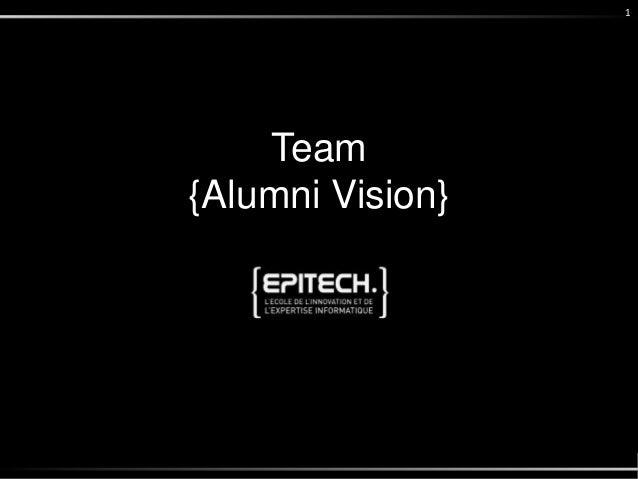 Team {Alumni Vision} 1