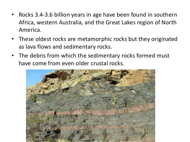 where are the oldest rocks in north america