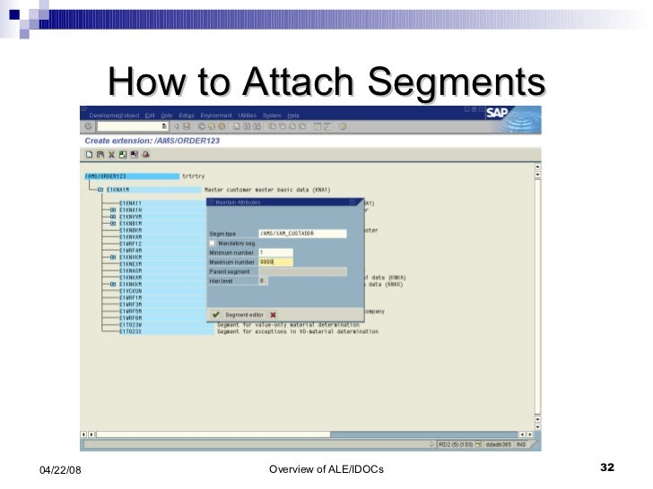 How to Attach Segments