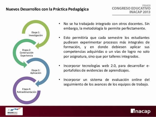 ¿Qué necesito para implementar esta práctica?  Etapa 1: Investigación  • Desarrollar una adecuada planificación previa a l...