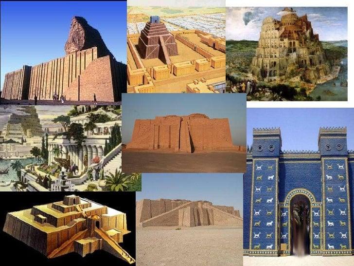 Resultado de imagen de arquitectura mesopotamica