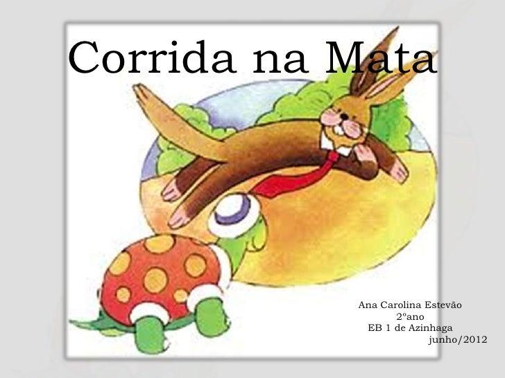Corrida na Mata           Ana Carolina Estevão                  2ºano            EB 1 de Azinhaga                         ...