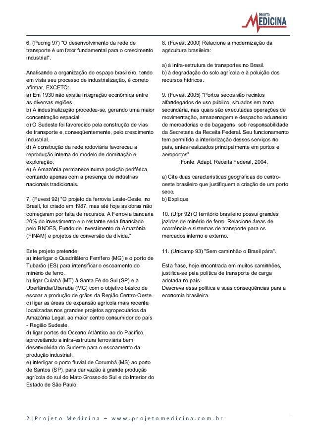 2º ano geografia brasil economica_transportes_comunicacoes_exercicios Slide 2