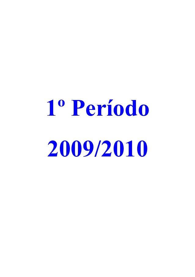 1º Período 2009/2010