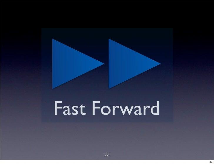 Fast Forward       22                22