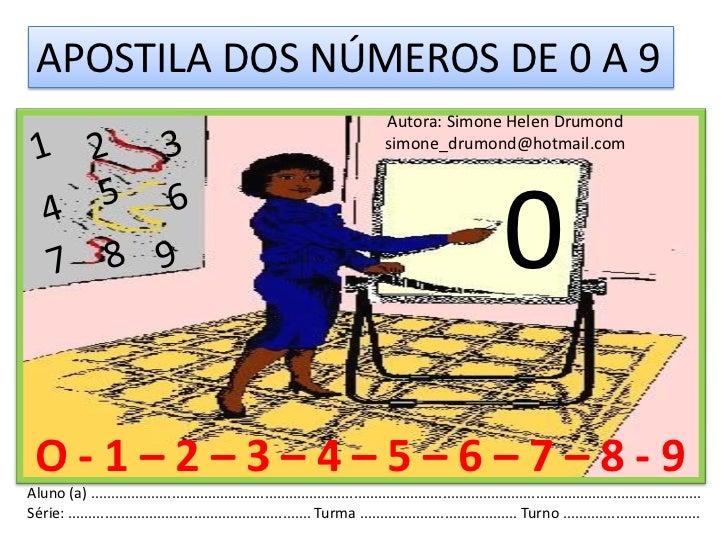 2º apostila dos números de 0 a 9 simone helen drumond