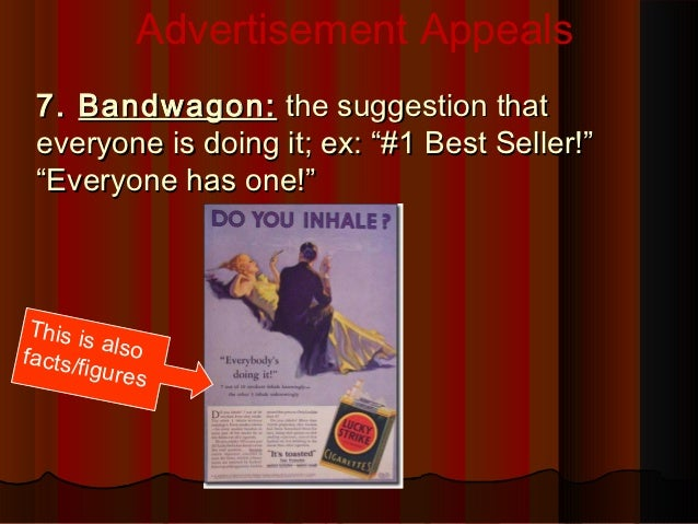 advertisement appeal Request pdf on researchgate   be rational or be emotional: advertising appeals, service types and consumer responses   purpose - this research aims to examine the use of emotional and rational advertising appeal regarding service options that differ in terms of their experience and credence properties and exploring the moderating role of .