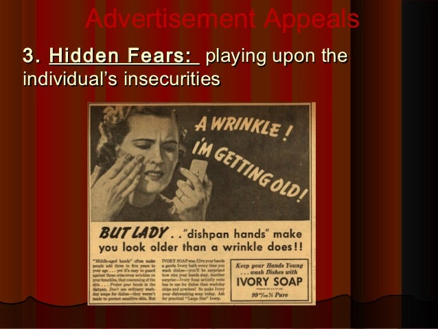 "emotional appeals in advertising essay Advertisements do advertisements manipulate the public advertisers use certain ""emotional appeals"" on advertisements to captivate and provoke a sudden impulse on the consumer to buy the product."