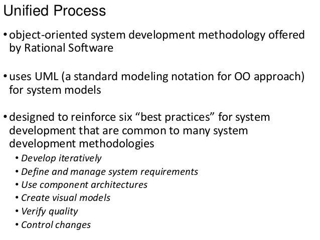 advantages and disadvantages of using unified modeling language as a standard for object oriented pr Business process modeling  among the modern methods are unified modeling language and business process model and notation.