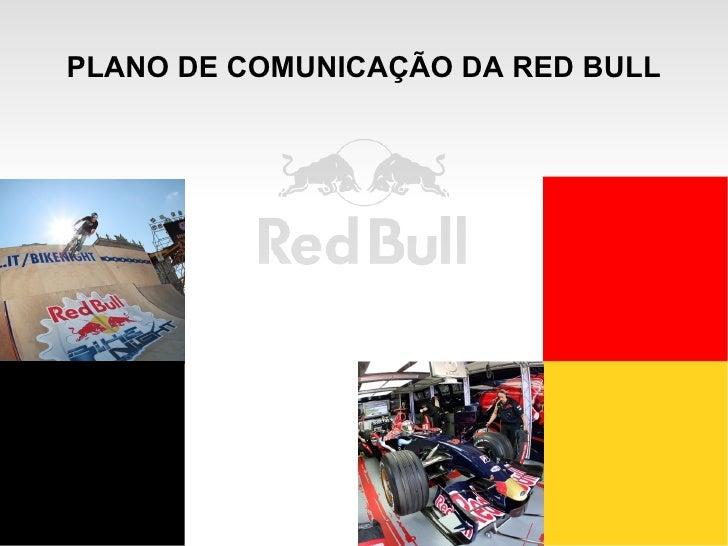 PLANO DE COMUNICAÇÃO DA RED BULL