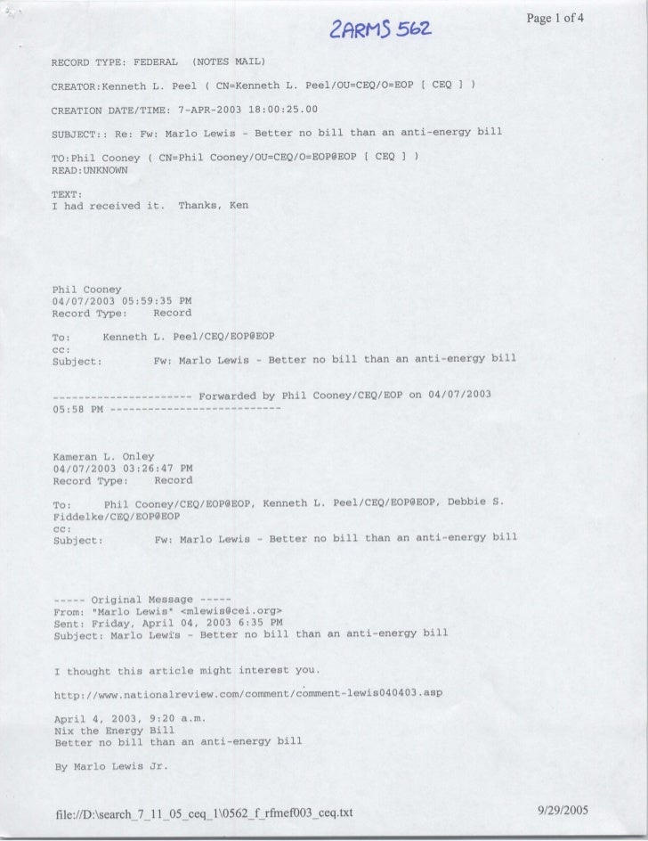 Page 1 of 4                                                       2ARM5        5oZ RECORD TYPE: FEDERAL         (NOTES MAI...