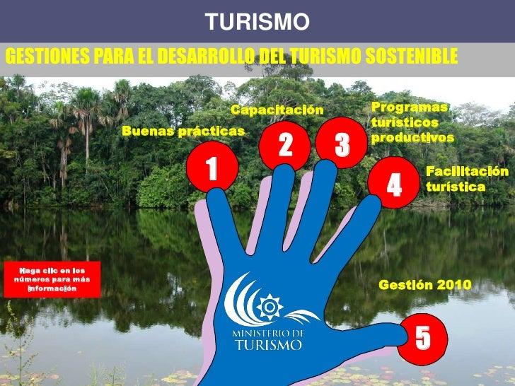 Turismo sostenible, oportunidades y desafios para el Ecuador