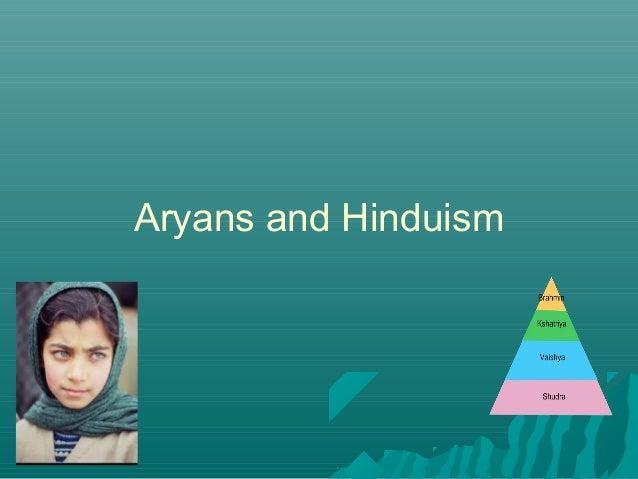 Aryans and Hinduism