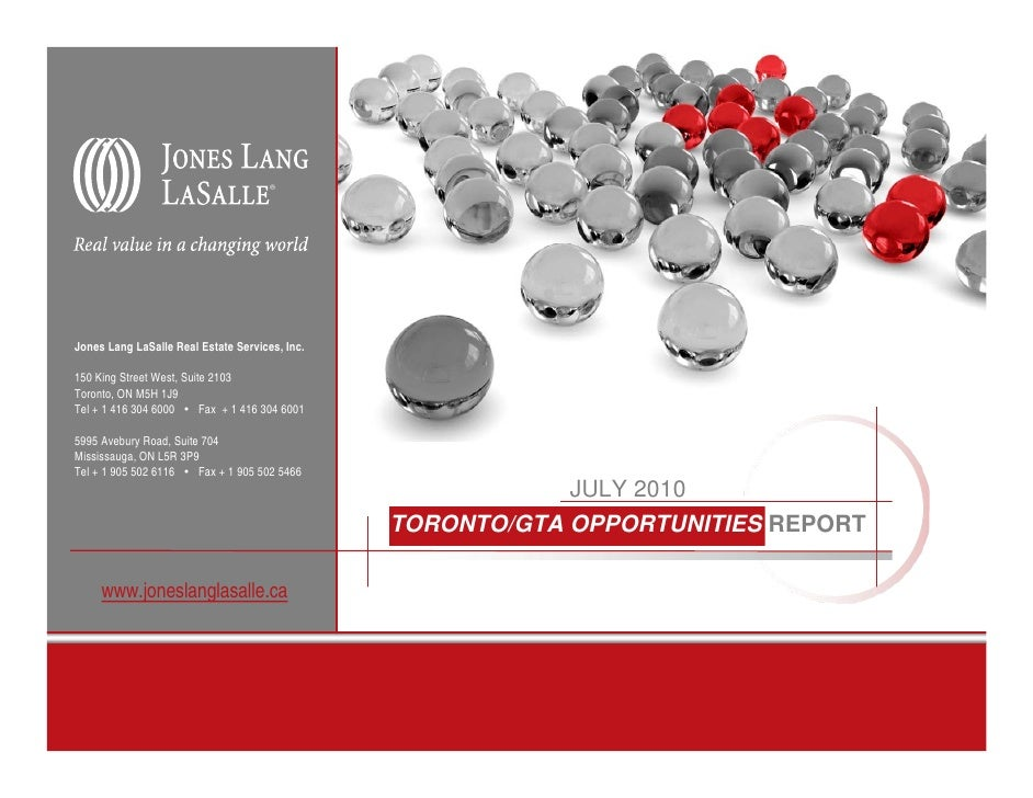 Corporate Solutions at Jones Lang LaSalle (2001) (A)