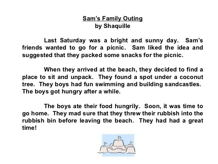 502 Words Essay on Family Picnic