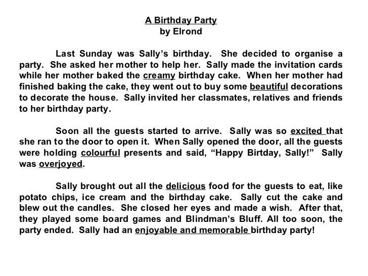 Write an essay about my birthday homework writing service write an essay about my birthday paragraph writing my birthday party school essay if you are stopboris Gallery