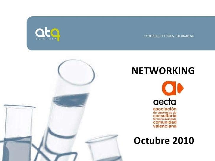 NETWORKING Octubre 2010