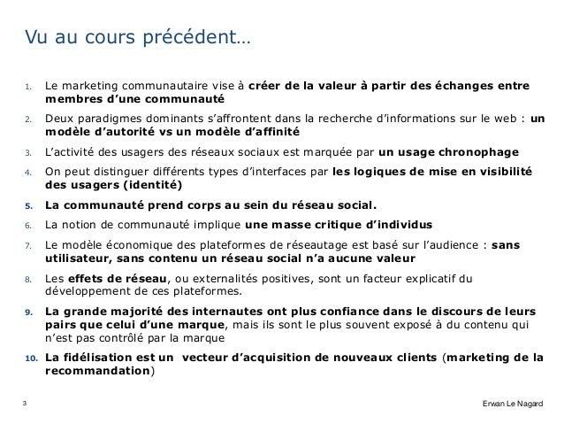 Audit et mesure de l'empreinte social media Slide 3