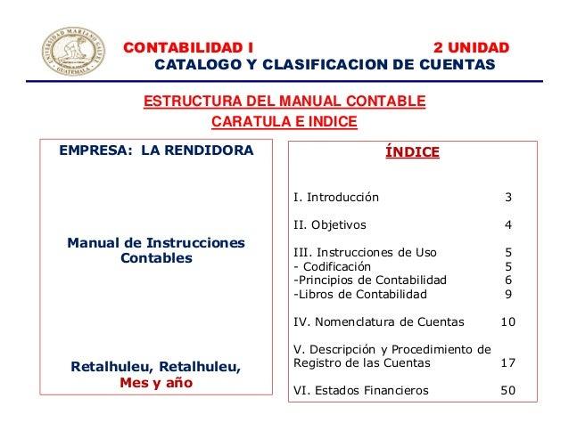 2a Unidad Manual Contable