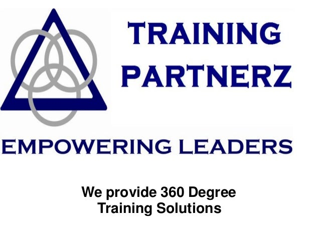 We provide 360 Degree Training Solutions