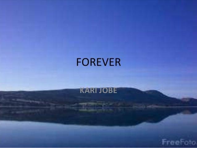 FOREVER KARI JOBE