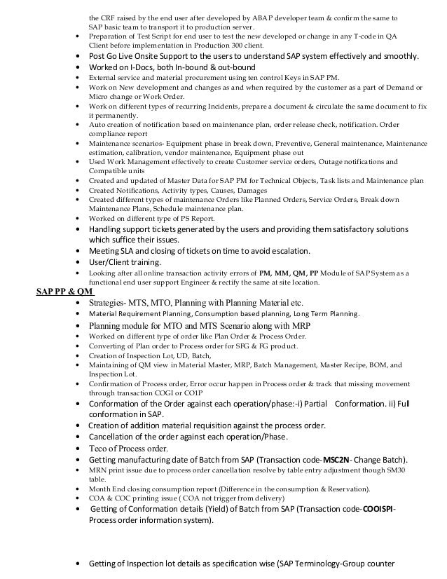 How To Write Coursework and Exam Essays sap pp consultant resume ...