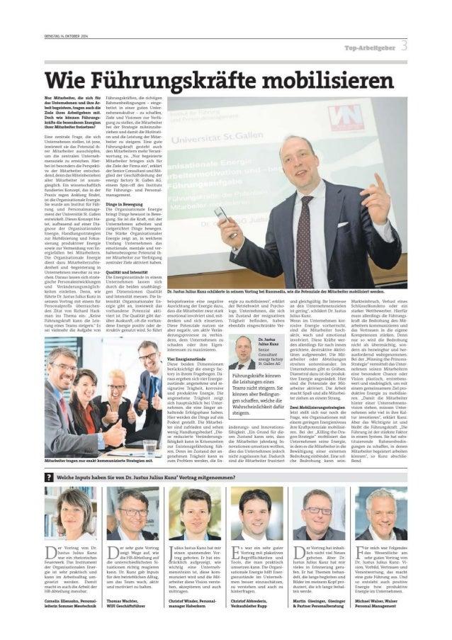"""̈ Hört die """"Signale 2014""""! 2. Tagung an der Bucerius Law School: Talentmanagement und Talententwicklung Von Arne Gärtner U..."""