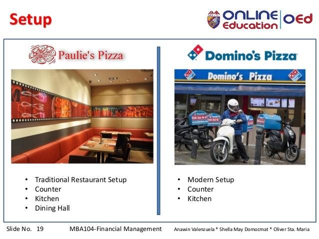 Slide No. 19 MBA104-Financial Management Anawin Valenzuela * Shella May Domocmat * Oliver Sta. Maria Setup • Traditional R...