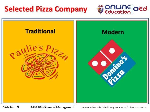 Slide No. 9 MBA104-Financial Management Anawin Valenzuela * Shella May Domocmat * Oliver Sta. Maria Traditional Modern Sel...
