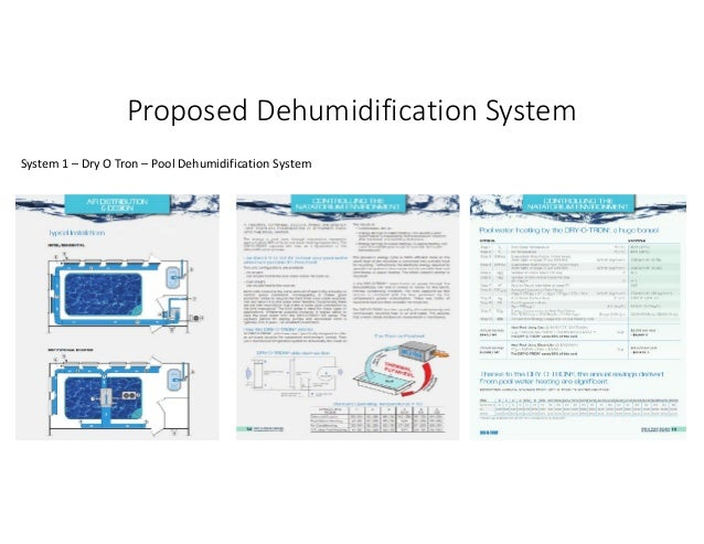Pool Dehumidification Systems Overview