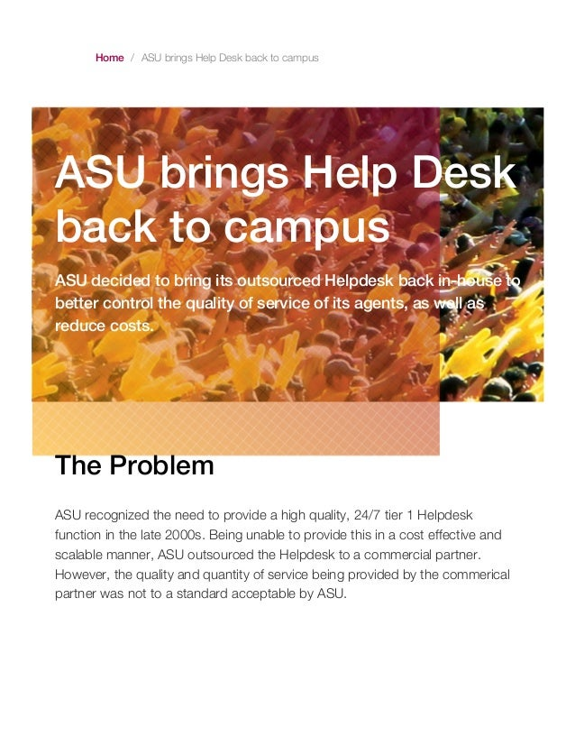 Marvelous Home / ASU Brings Help Desk Back To Campus ASU Brings Help Desk Back To  Campus ... Good Looking