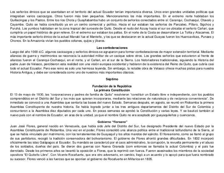 Los señoríos étnicos que se asentaban en el territorio del actual Ecuador tenían importancia diversa. Unos eran grandes un...