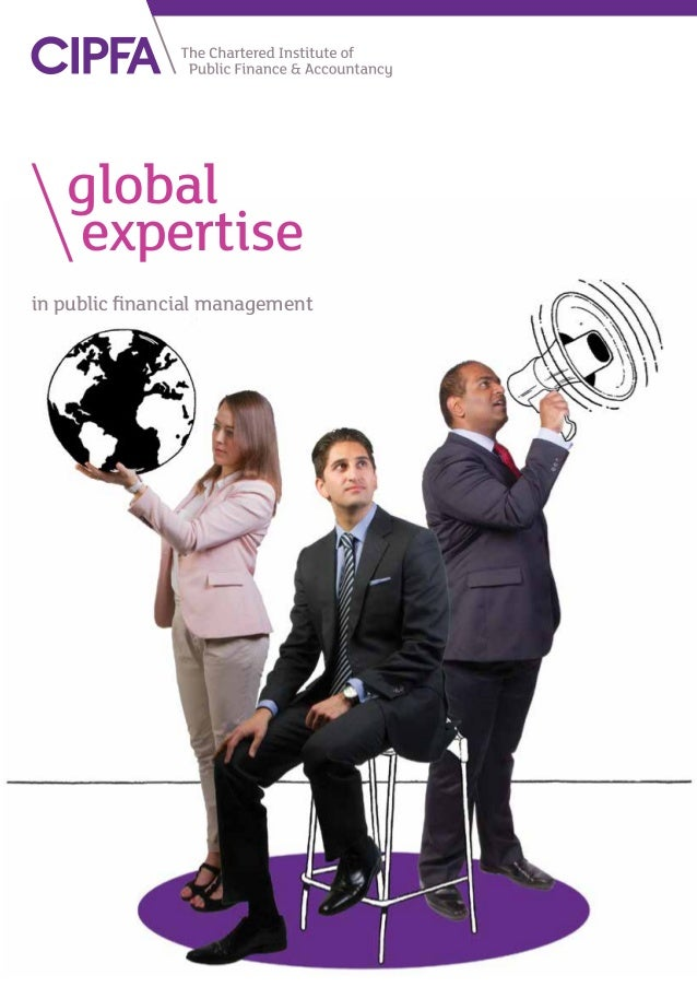 in public financial management 	global 		 expertise