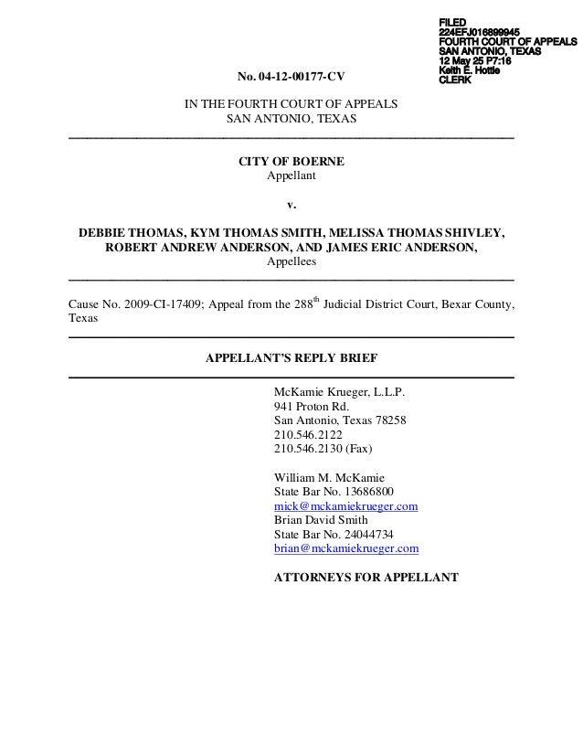 Appellant\'s Reply Brief F 5.25.12