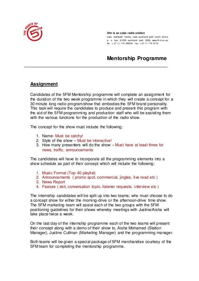 5FM Mentorship Brief (1)