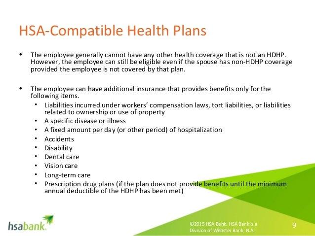 CDHP Concept - what is an HSA