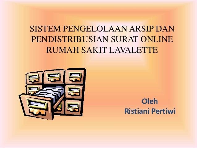 sistem pengelolaan arsip dan pendistribusian surat online