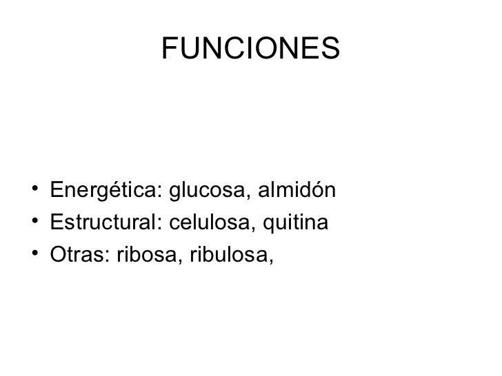 Monosacáridos                                CARACTERÍSTICAS•    Sólidos•    Cristalinos•    Color blanco•    Monómeros•  ...