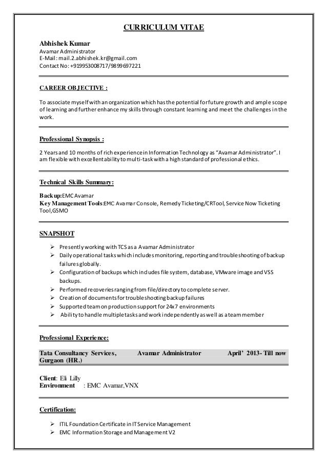 service now administrator resume images resume format examples 2018