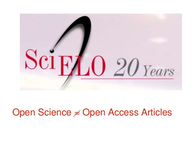 Open Science = Open Access Articles