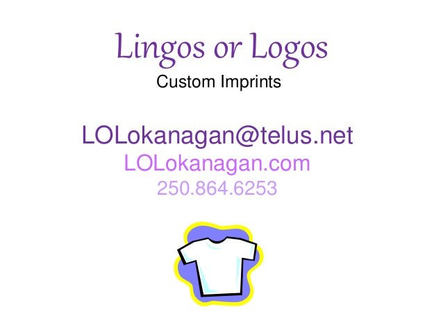Lingos or Logos slideshow