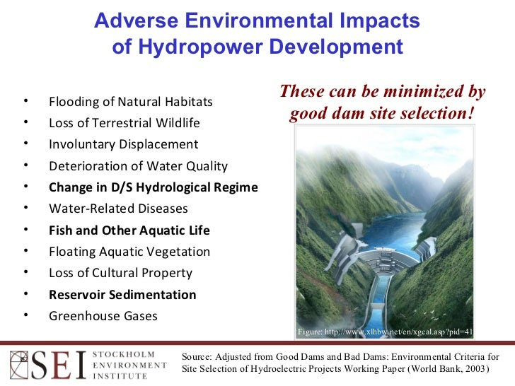 the effect of hydroelectric water dams Do dams destroy rivers this makes it imperative to understand the effect of dams on ecosystems and people and hydroelectric dams produce significant.