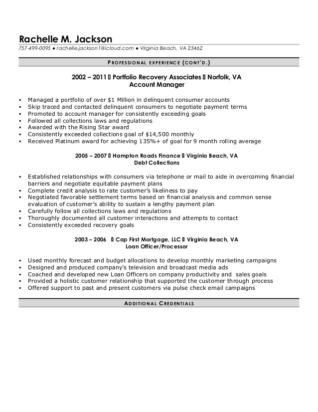 R Jackson Loan Processor Resume . Within Mortgage Loan Processor Resume