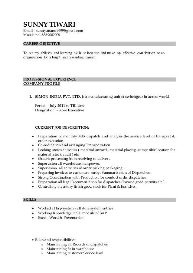 executive profile resumes