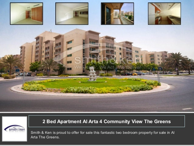 2 Bed Apartment Al Arta 4 Community View The Greens Smith & Ken is proud to offer for sale this fantastic two bedroom prop...