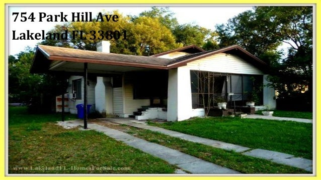 2 Bedroom Historic Home For Sale 754 Park Hill Ave Lakeland Fl 338